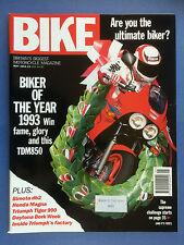 Bike - May 1993 - Honda Cbr100Fp - Vf750C - Bimota db2 - Triumph Tiger 900