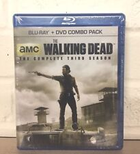 The Walking Dead The Complete Third Season Blu-ray + DVD Combo - NEW & SEALED