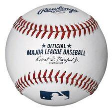 ONE DOZEN (12 Baseballs) OFFICIAL Major League Baseballs - Robert Manfred