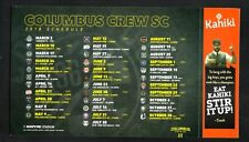 Columbus Crew--2018 Magnet Schedule--MLS