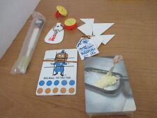 Lot of 7 McDONALD'S PROMOTIONAL ITEMS~Cards, TicTacToe,Key RIngs,Ring,Toothbrush