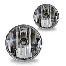 07-13 Ford Escape Fog Lights Pair Set w/Bulbs - Clear