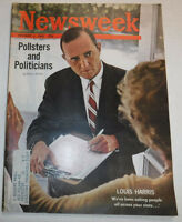 Newsweek Magazine Louis Harris Politicians October 1962 100316R2