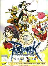 DVD Japan Anime RAGNAROK Complete TV Series (1-26 End) English Dub Version