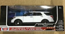 Motor Max Law Enforcement And Public Service 2015 Ford Interceptor Utility 1:18