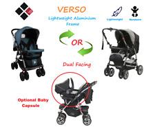 USED BEBE CARE VERSO Baby Pram Reversible Newborn Aluminum Lightweight Stroller
