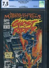 Ghost Rider #28 CGC 7.5 1st Appearance of the Midnight Sons, Caretaker & Lilith