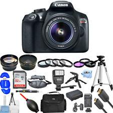 Canon EOS Rebel T6 DSLR Camera with 18-55mm Lens (Black) - Filter Kit Bundle