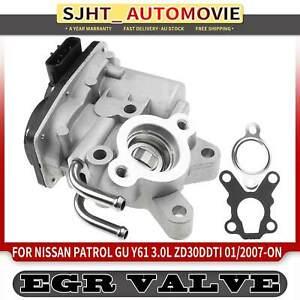 EGR Valve w/ Gasket for Nissan Patrol GU Y61 3.0 Diesel ZD30DDTi 2007-on 5 pins
