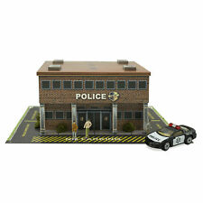 1/48 O Scale Police Station Diorama Building Kit Fits Lionel, Bachmann, Williams
