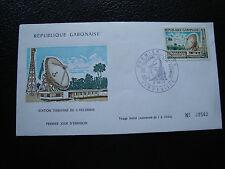 GABON - enveloppe 1er jour 2/7/1973 (cy82)