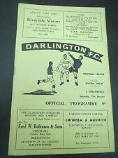 Darlington V Chesterfield   1968/9