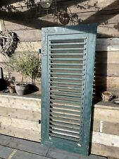 More details for antique french shutter