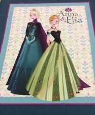 Disney - Frozen Quilt Panel - Anna And Elsa - CP55427 - 100% Cotton 90cm x 112cm