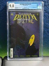 Dark Nights Death Metal #4 CGC 9.8 Foil Cover A Capullo Batman