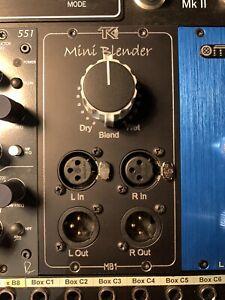 TK Audio MB1 API 500 series stereo blender/parallel processor/effects loop