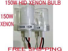 Pair 150W HID Xenon Conversion Kit Bulb Lamp Light White 6000K H1 H3 H4 H7 H11