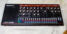 Roland Boutique JX-03 Synth Sound Module. JX-3P Synthesizer Sounds