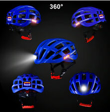 Outdoor Sport Cycling Light Helmet W/LED LIGHT MTB Road Bike 57cm-62cm ROCKBROS