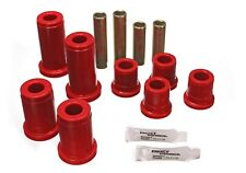 Energy Suspension Control Arm Bushing Set Red Front for Chevrolet, GMC # 3.3134R