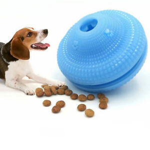 Pet Treat UFO Shape Food Dispenser, Interactive Toy for Dogs and Cats Funny