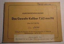 Manual de instrucciones FN FAL rifle g1 1 bgs BW, owners manual