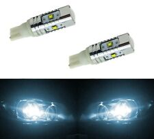 LED Light 30W 194 White 6000K Two Bulbs Front Side Marker Parking Upgrade Fit