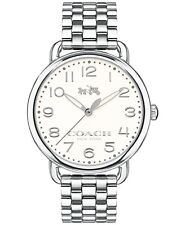 Coach Women's Delancey Stainless Steel Bracelet Watch 36mm 14502260 $275