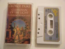 GEORGE DUKE GUARDIAN OF THE LIGHT CASSETTE TAPE 1983 PAPER LABEL CBS UK