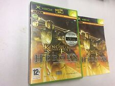 KINGDOM UNDER FIRE HEROES  USATO PAL X BOX-