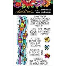 Stampendous Laurel Burch Clear Stamps - Fish Wishes SSCL104