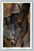 Crystal Cave PA, Interior View, Vintage Pennsylvania Postcard