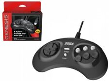 Sega Genesis 8-Button USB Port Controller [Black]
