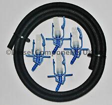 Ford Mondeo 2.2 Back Leak Connectors Common Rail Delphi Diesel Injectors 4 Cyl