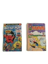 1977 Richie Rich and 1983 Kool Aid comic book lot Free Shipping 🌎 World Wide