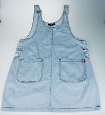 Switch 14/16 Denim Coverall Overall Bib Dress Farm Country Grunge Made in USA