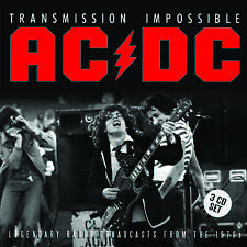 AC/DC New Sealed 2018 LIVE 1974 - 79 CONCERTS 3 CD BOXSET