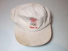 Calgary 1988 Cordoroy Cap (Winter Olympics)