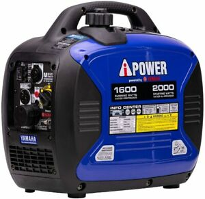 Portable Gasoline Inverter Generator 2,000 Watt Powered Yamaha Engine (2DayShip)