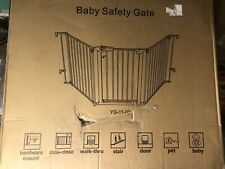 New Super Wide Configurable Baby Gate - White