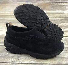 Merrell Winter Moc Women's Black Suede Loafer Slip On Comfort Size 6.5