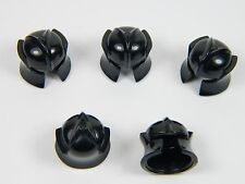 LEGO Dragon Helmet for minifigure Knight x5 Black Castle Kingdoms +
