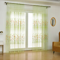 Living Room Curtains Screens Sunshade Foxtail Grass Romance Household Items O3
