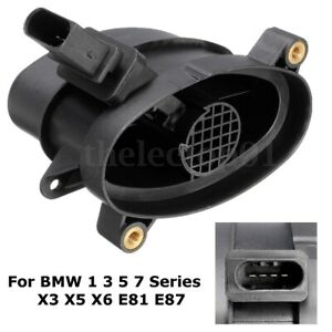 Mass Air Flow Meter Sensor For BMW 1 3 5 Series X3 X5 X6 E87 E90 E91 13627788744