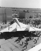 XB-70 / XB-70A VALKYRIE ROLLOUT 8x10 SILVER HALIDE PHOTO PRINT