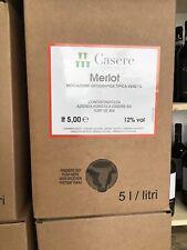 Vino Bag In Box Merlot IGT 5lt Az Casere #303wineshop