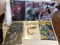 22 Mixed Comic Lot 1980's and 90's