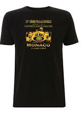 Monaco Grand Prix T Shirt 1957 Fahrer Championship GP Classic Formel Race