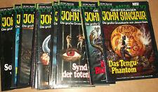 10x Geisterjäger John Sinclair, Romanhefte Einzelhefte Nummer 630 bis 639 po613