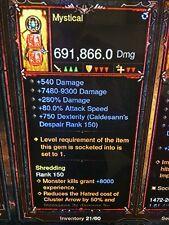 Diablo 3 patch 2.6.1 puce Demon Hunter Manticore niveau de puissance arme